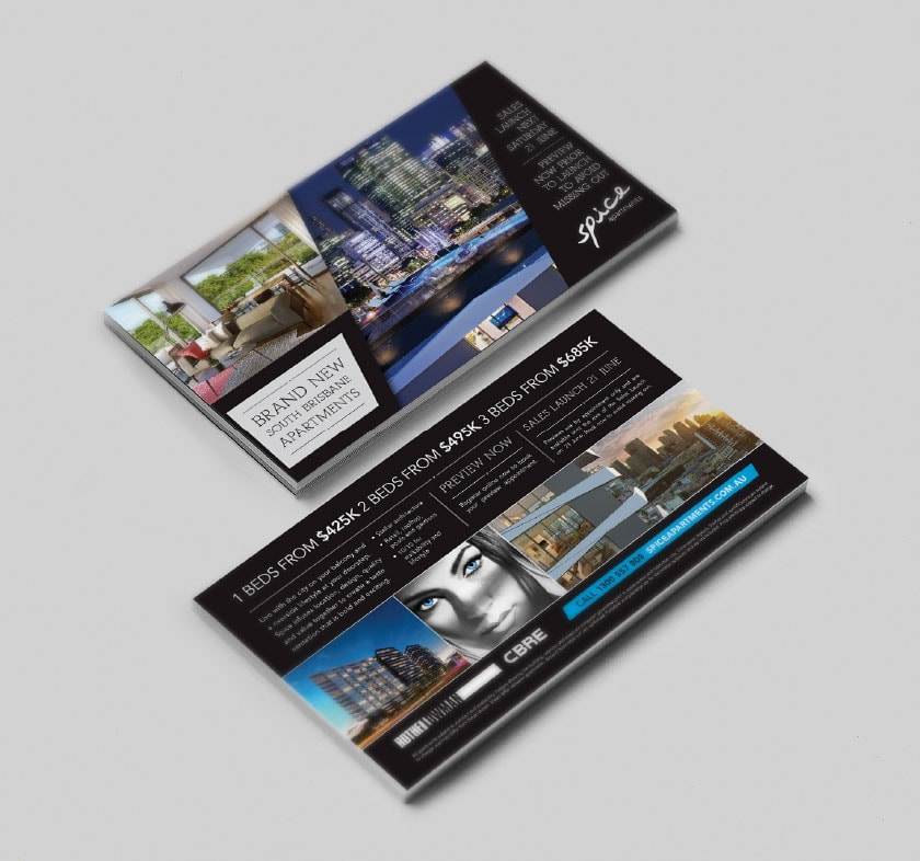 Spice Apartments Direct Mailer